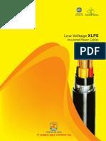 Low Voltage Cable XLPE - Copper