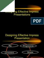 Designing Effective Presentation