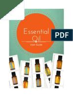 Essential Oils User Guide