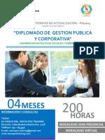 Diplomado en Gestion Publica y Corporativa