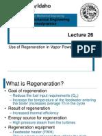 L26 - Regeneration
