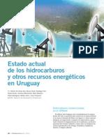 Estado actual de los hidrocarburos y otros recursos energéticos en Uruguay / Petrotecnia Abril 2010