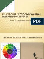 0 - Relato de uma experiência de avaliação das aprendizagens com TIC - Drª Conceição Jacinto.pdf