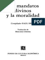 Helm Paul - Los Mandatos Divinos Y La Moralidad.pdf