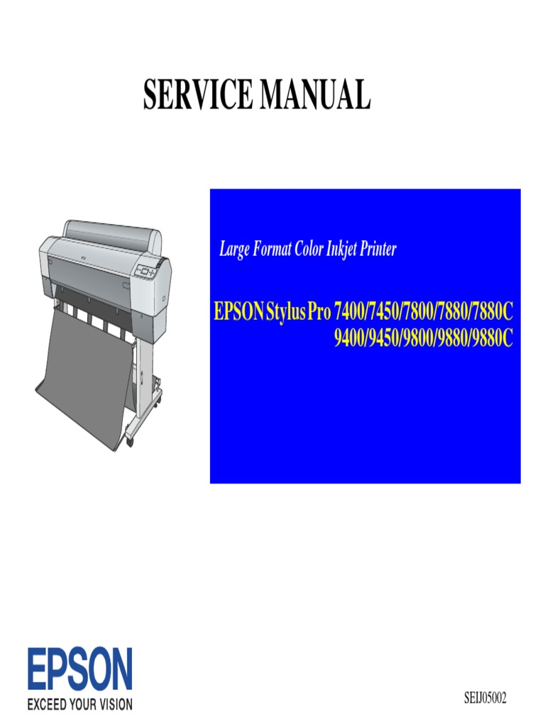 epson 7880 pdf   Printer (Computing)   Printed Circuit Board
