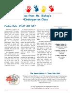 bishop newsletter october 20