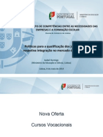 MEC_curso vocacional Adequar perfis de competências entre as necessidades das empresas e a formação escolar final.pptx
