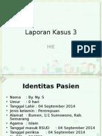 Lapsus HIE
