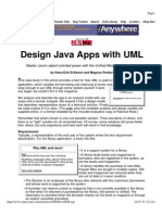 Design Java Apps With UML