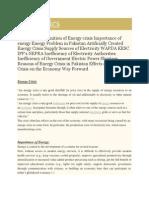 energy crisis.docx