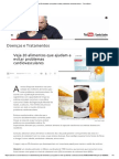 Veja 20 alimentos que ajudam a evitar problemas cardiovasculares - Terra Brasil.pdf