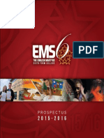 EMS 6th Form Prospectus 2015/2016