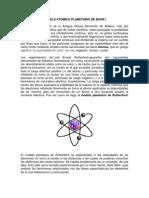 MODELO ATOMICO PLANETARIO DE BOHR I.docx