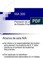 Presentacion Auditoria,  Nia 300.