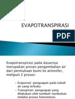 4.a. Evapotranspirasi