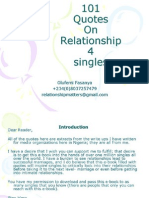 101 Quotes on Relationship 4 Singles