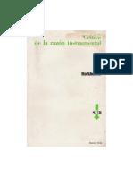 Adorno & Horkheimer-Crítica de la razon instrumental.pdf