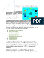 La estructura organizacional de una empresa u otro tipo de organización.docx