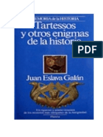 Juan Eslava Galan-Tartessos Y Otros Enigmas de La Historia