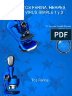 TOS FERINA, HERPES VIRUS SIMPLE 1 y.pptx