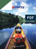 Sample MERCY Malaysia Annual Report 2011