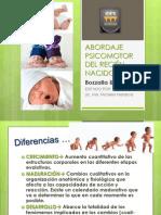 ABORDAJE PSICOMOTOR DEL RECIÉN NACIDO, evolutiva parcial 2.pptx