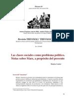 Las clases sociales como problema político. Notas sobre Marx.pdf