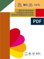 Serie de protocolos de manejo clínico para atenção priaria de la salud.pdf
