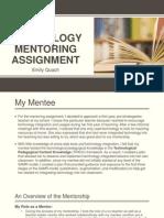 artifact mentorship