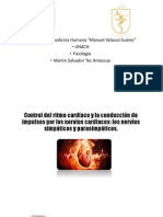 control simpático y parasimpático del corazón.pptx