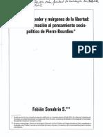 Sanabria, Campos del poder y márgenes de la libertad_una aproximación al pensamiento sociopolítico de Pierre Bourdieu.pdf