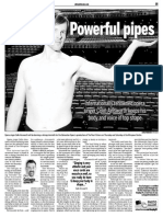 Colin Ainsworth, Keeping Fit, Sun Media (March 9, 2009)