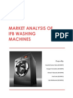 Market Analysis of Ifb Washing Machines