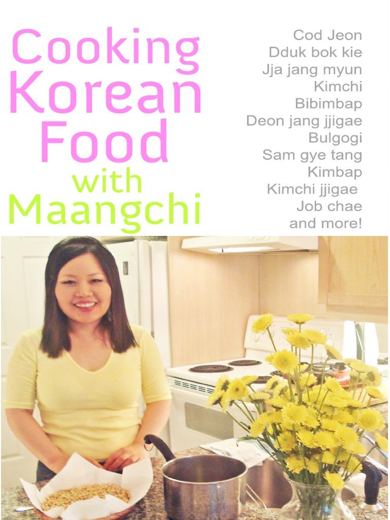 Cooking Korean Food With Maangchi | Korean Cuisine | Stir Frying