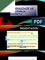 taller nº 1 APRENDIZAJE DE LA LENGUA ESCRITA .pptx