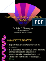 Training in Indian Classical Music