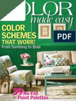Color Made Easy - 2013 USA