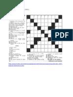 Crossword Puzzles , Jokes, Advertisements and Movies