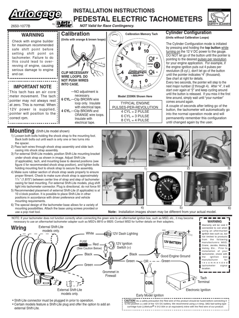 Crane Tach Adapter Wiring Diagram Library Mallory Tachometer Electrical Connector Ignition System 20