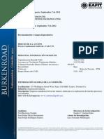 Continental-gold-2012 Compra Especulativa de Titulos Mineros
