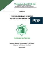 Proposal Pendidikan Pesantren Yatim Dhuafa