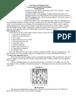 Ten Tips to Winning Chess