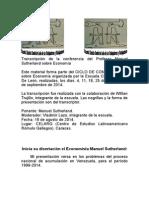 Conferencia de Sutherland. Transcripción Escuela Clasista Daniel De León. Revisada.doc