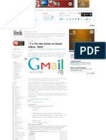 É o fim dos testes no Gmail