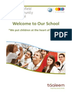 Welcome Booklet - Greenfield Community School