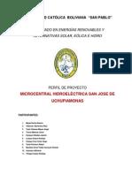 Final Perfil de Proyecto Uchupiamonas