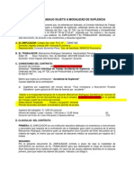 Contrato de Trabajo Sujeto a Modalidad de Suplencia Corregido