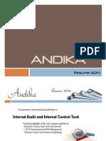 Andika Resume New