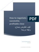 How to Negotiate a Successful , Profitable Close (تم الحفظ تلقائيًا)