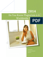Do You Know Plagiarism is a Worldwide Dilemma